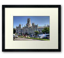 Cibeles Palace Framed Print