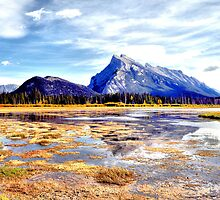 Vermillion Lakes, Alberta Canada Fall Images by Laurast