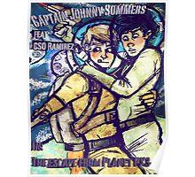 Space Boyfriends Poster