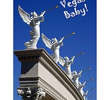 Vegas Baby!  IPhone Case by DARRIN ALDRIDGE