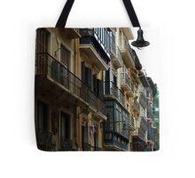 Balconies and Lampost Tote Bag