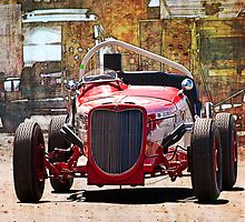 1934 Ford V8 Indy Special - Front View by Stuart Row