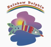 Rainbow Dolphin by Princess Boo-Boo