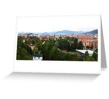 San Jorge and River Greeting Card