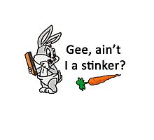 Bugs Bunny Stinker Photographic Print