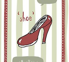 We Wish Shoe a Merry Christmas by Laura Jane West