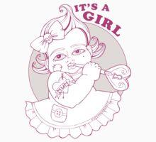 It's A Girl by TattooedBabies