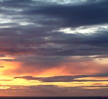 westward ho sunset 444  b7 by Gea Austen