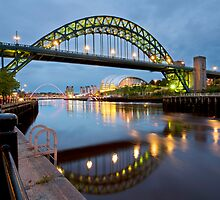 tyne bridge by paul mcgreevy
