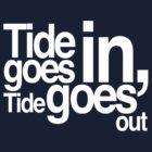 Tide goes in, tide goes out by stinaq