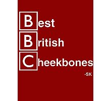 Best British Cheekbones... Photographic Print