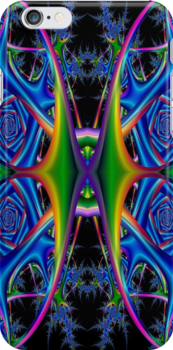 Space Harp Fractal 1 by Marvin Hayes