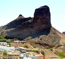 Giant mountain before Parker, AZ. by Onehun