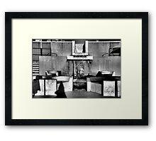 Busy Framed Print