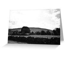 Ireland in Mono: Dreams Are So Real Greeting Card