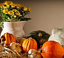 Thanksgiving Still Life by onyonet photo studios