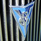 Ford V8 Badge by Russell Voigt
