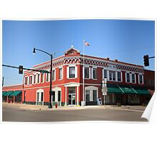 Route 66 - Sayre, Oklahoma Poster