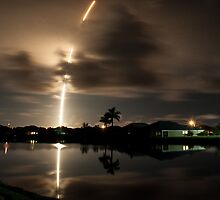 Falcon 9 CRS1 Launch by Per Hansen