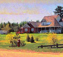 Caledon Woods House by DiNovici