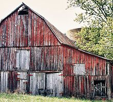 The Red Barn by Martha1107