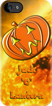 Jack 'O' Lantern iPhone case design by Dennis Melling