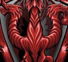 Fire and Blood - Sticker Sticker