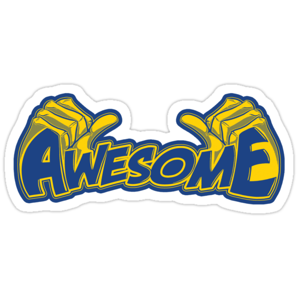 I'm Awesome - Sticker by TrulyEpic
