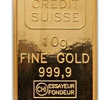 Credit Suisse gold iPhone 4/4s case by Jnhamilt