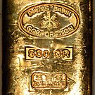 Swiss Bank Gold iPhone 4/4s case by Jnhamilt