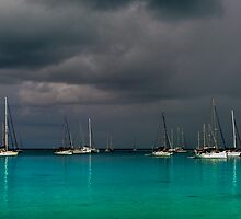 Storm over the Lagoon by Karen Willshaw