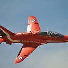 Red Arrows Solo Pilot 2011 by SHUTTERBLADE