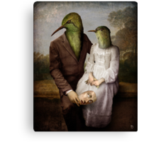 The Hummingbirds Canvas Print