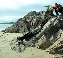 Ambush On The Beach by rsangsterkelly