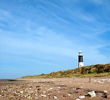 Spurn Point Lighthouse by Neil Clarke