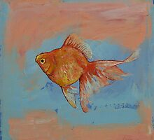 Ryukin Goldfish by Michael Creese