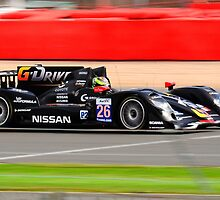 Signatech Nissan No 26 by Willie Jackson