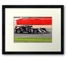 Signatech Nissan No 26 Framed Print