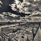 View over Cologne I by Markus Landsmann