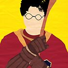 Harry Potter I Minimalist Poster - Harry by Jessica Slater