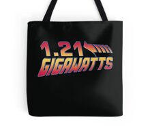 Back to the Future 1.21 Gigawatts Tote Bag