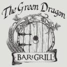 The Hobbit Green Dragon Bar & Grill Shirt by hopper1982