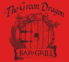 The Hobbit Green Dragon Bar & Grill Shirt Kids Clothes