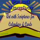 Banner for Art With Scriptures for Calendars & cards  by aldona