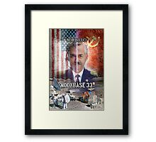 Moonbase 33 Framed Print
