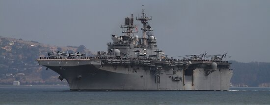 Heavy Duty USS Makin Island  by fototaker