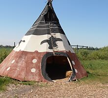 Tipi at Fort Whyte style 3 by winnipegmike