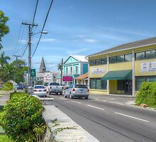 Shirley Street in Nassau, The Bahamas by 242Digital