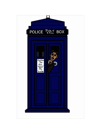 Peek-a-Boo, Tardis! I See Who! by 1ofthenobodies