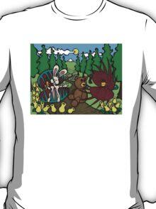 Teddy Bear And Bunny - The Venus Flytrap T-Shirt